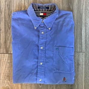 Tommy Hilfiger Blue Corduroy Shirt